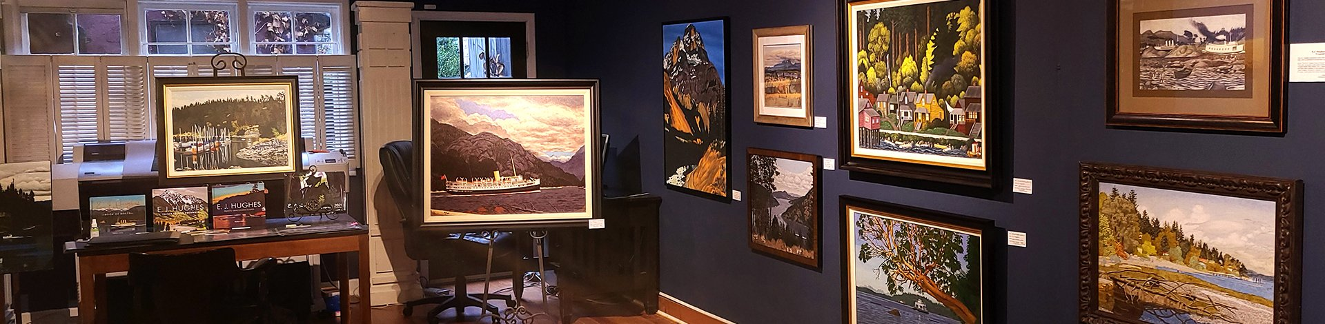 Ej Hughes Gallery and Books - Duncan BC